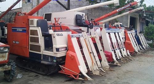 Máy nông nghiệp Nhật Bản hàng bãi