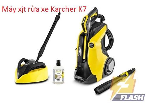 Tìm hiểu máy xịt rửa xe Karcher K7: Phân loại và ưu điểm của máy