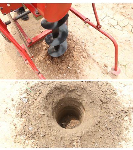 mũi khoan máy khoan đất trồng cây